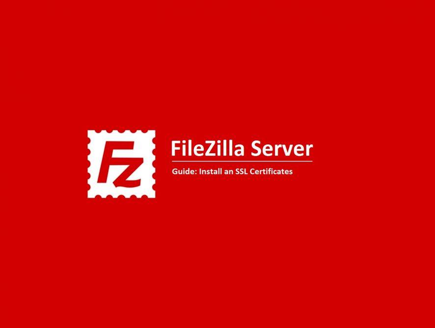 ¿Cómo hago para instalar FileZilla?